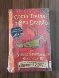 Livro Como Treinar o seu Dragão