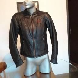 Jaqueta de couro Harley-Davidson feminina XS/PP