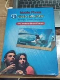 Lupa amplificadora dobrável HD 3D para tela de celular