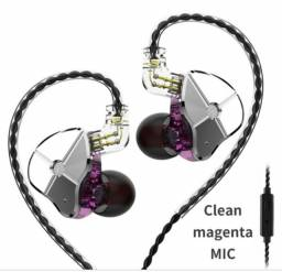 KIT Fone de ouvido TRN STM + Case de brinde+ Fone S/Fio