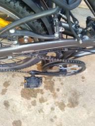 Bicicleta Caloi Dobrável