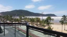 Lindo apartamento 2 dormitórios de frente para a praia no Canto do Forte - Praia Grande/SP