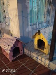 Casa de cachorro (duas)