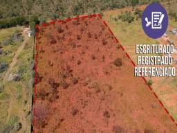 Terreno de 20.000m² Escriturado, Registrado e Georeferenciado