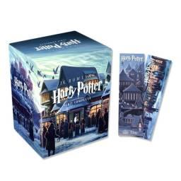Coleção Harry Potter - 7 Volumes (português) Capa Comum com 2 Marcadores Exclusivos