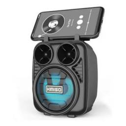Mini Caixa De Som Kimiso C/ Bluetooth Kms-1182