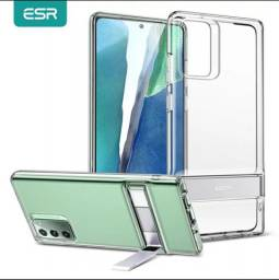 Capa ESR Kickstand com suporte para Galaxy Note 20 Ultra.<br>