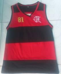 Título do anúncio: Camisa Regata do Flamengo Retrô