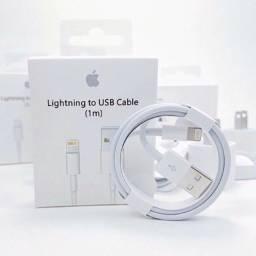 Cabo Lightning USB Original Apple para iPhone em Caixa Lacrada 1M