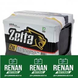 Título do anúncio: Bateria zetta 60ah
