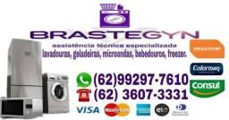 Título do anúncio: Máquina de lavar e geladeira
