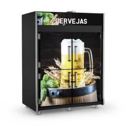 Título do anúncio: Câmara freezer de cervejas 4 portas 1800L Refrimate Nova Frete Grátis