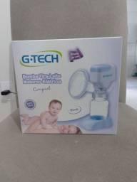 Título do anúncio: Bomba tira-tira leite materno eletrico g.tech