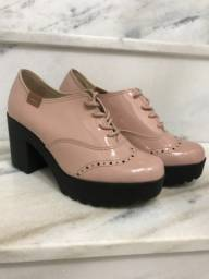 Título do anúncio: Sapato Moleca novo n34 Rose