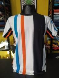 Título do anúncio: Camisetas masculina listradas