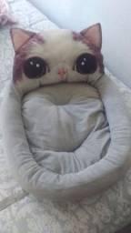 Cama quentinha para gatos