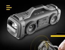 Caixa de som portátil Multilaser pulse mega boombox com bluetooth 440w
