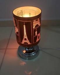 Título do anúncio: Luminária Abajur Paris