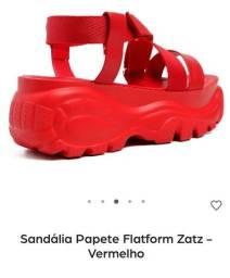 Sandália da zax nova