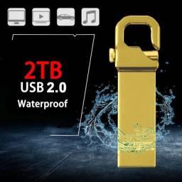 Pen Drive de Metal USB 3 0 de 2TB Memória Flash