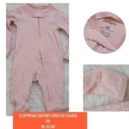 Pijama da Carter´s para RN, R$30,00 cada