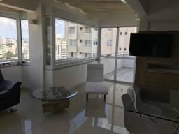 Linda Cobertura Duplex 5 Dorm com 4 Suítes e 4 Vagas - Mobiliada e Decorada - Santo André