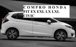 Honda Fit ex exl branco - 2015