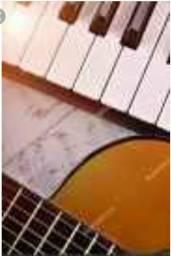 Venha fazer aulas de canto, violão e teclado