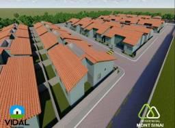 Casa de 3Quartos com suit em COND fechado e entrada mínima de 1 mil / 125 m2