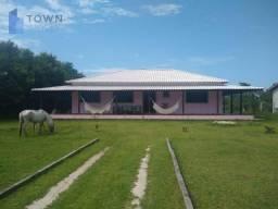 Chácara com 3 dormitórios à venda, 5800 m² por R$ 700.000,00 - Caxito Pequeno - Maricá/RJ