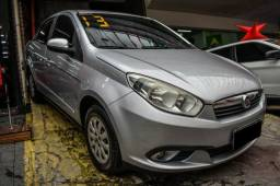 Grand Siena Attractive 1.4 Flex Completo + GNV + 2019 Vist - 2013