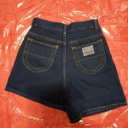 Short  jeans vintage, cintura alta da hamuche.