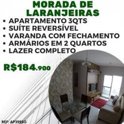 MG Apartamento 3 Quartos em Morada de Laranjeiras - Cond. Mestre Alvaro