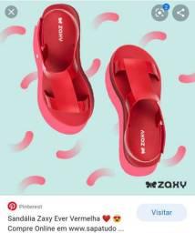 Sandália feminina Zaxy