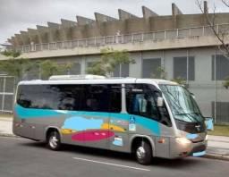 Micro ônibus. Sênior com VW 9-160. 2014-14. 26 no salão.