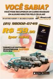 Rastreador Bloqueador de Veículos por Telefone Celular
