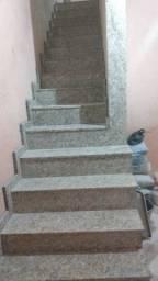 Revestimento de escada em Santa Cecília