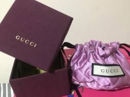 Gucci caixinha e dust bag mini p/joias