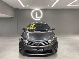 Título do anúncio: Toyota Corolla 2.0 Altis 2015 Blindado Nível 3A