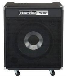 Amplificador Cubo Combo Para Baixo Hd150 Hartke 150 W Rms Linha Profissional<br><br>