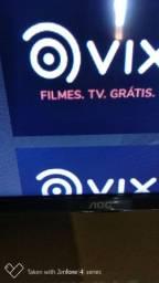 Vendo smart tv aoc roko tv 43 polegadas 2 meses de uso