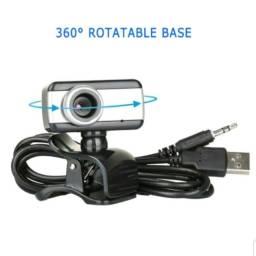 Hd Usb 2.0 Webcam com zoom de fábrica Com Microfone Laptop Pc Computador Desktop Câmera