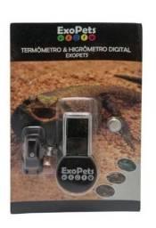 Termômetro e higrômetro para TERRÁRIOS
