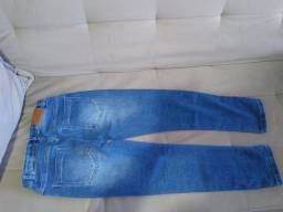 calca jeans tamanho 10
