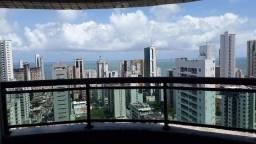 Título do anúncio: Apartamento com 3 quartos para alugar, 114 m² por R$ 4.288/mês - Boa Viagem - Recife/PE
