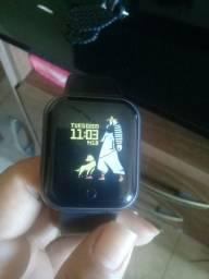 Smartwatch Y68 D20 relógio inteligente á pronta entrega