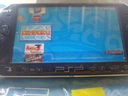 PSP portátil 3001 destravado 85 jgs (leia)