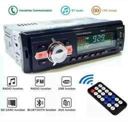 Rádio de carro completo com bluetooth entrada pra pendrave e rádio FM