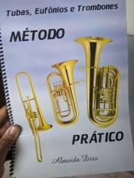 Título do anúncio: Método Almeida Dias - Tuba, Eufônios e Trombone