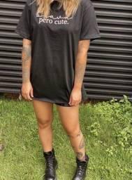 T-shirt max/ camisa feminina (100% algodão)